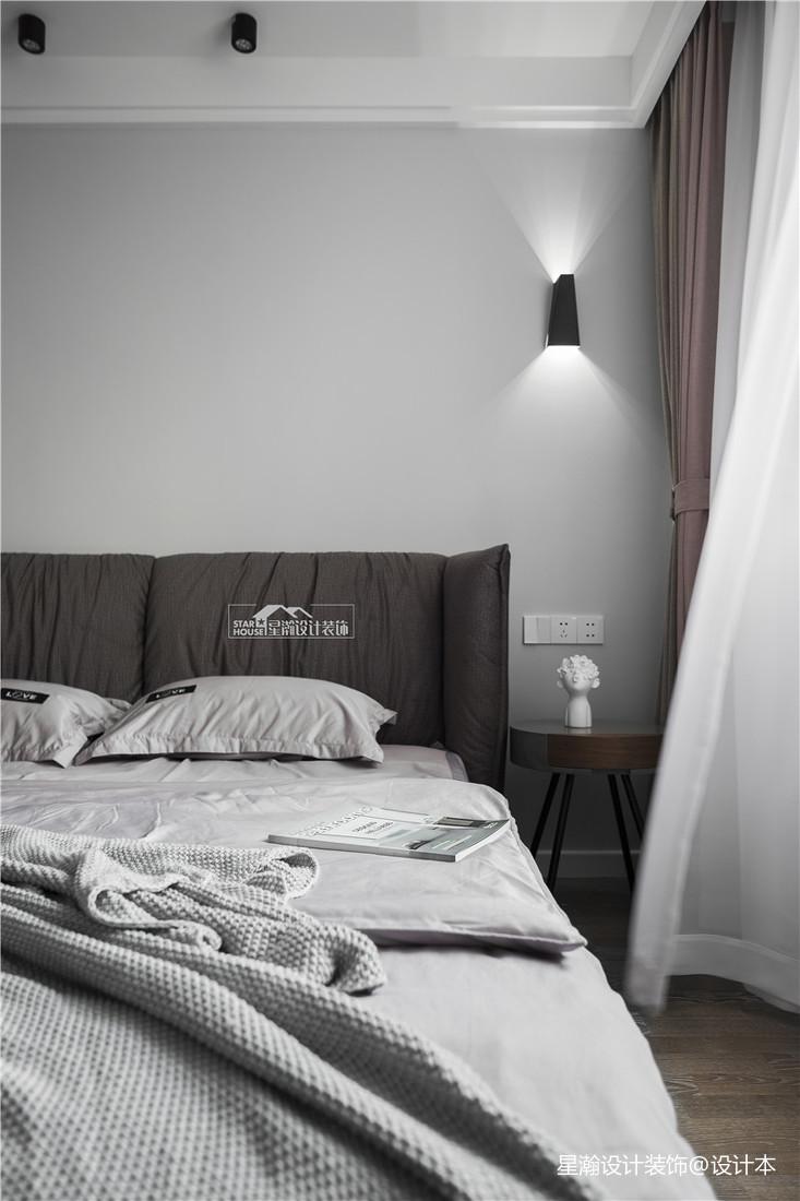 浪漫63平简约二居卧室装修效果图