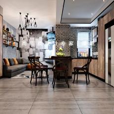2018精选86平米二居客厅装修实景图片欣赏