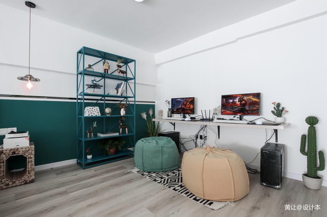 简洁23平混搭小户型休闲区装饰图片