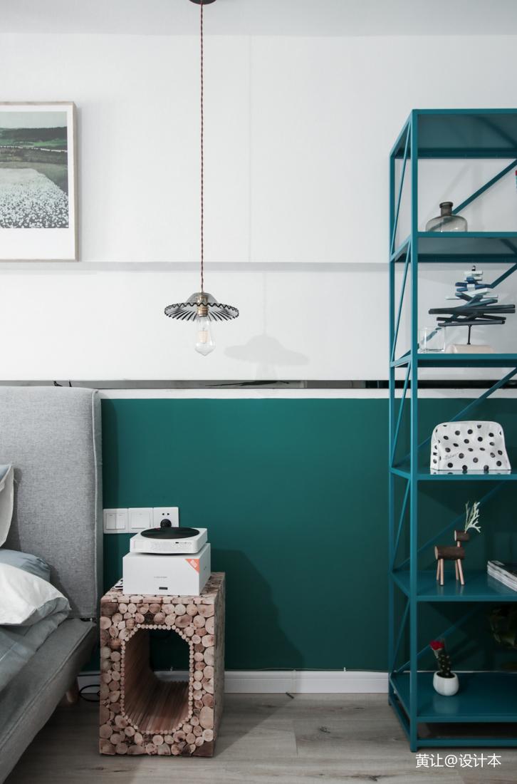 优雅39平混搭小户型卧室图片欣赏
