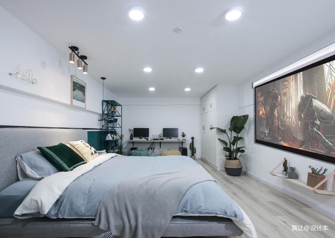 小户型卧室混搭装修实景图片欣赏