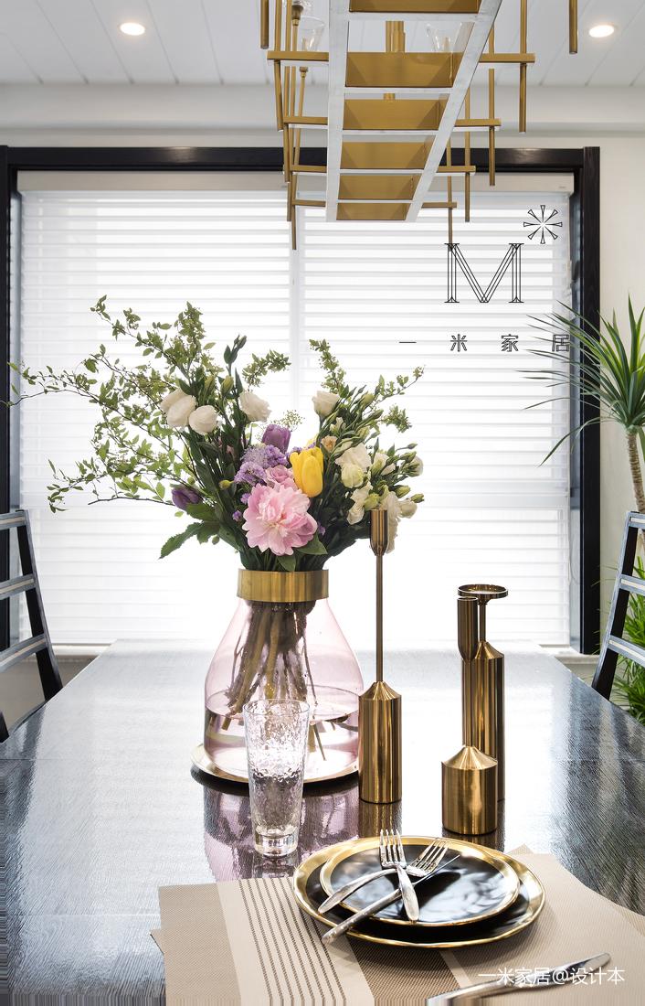 温馨121平美式三居装饰美图