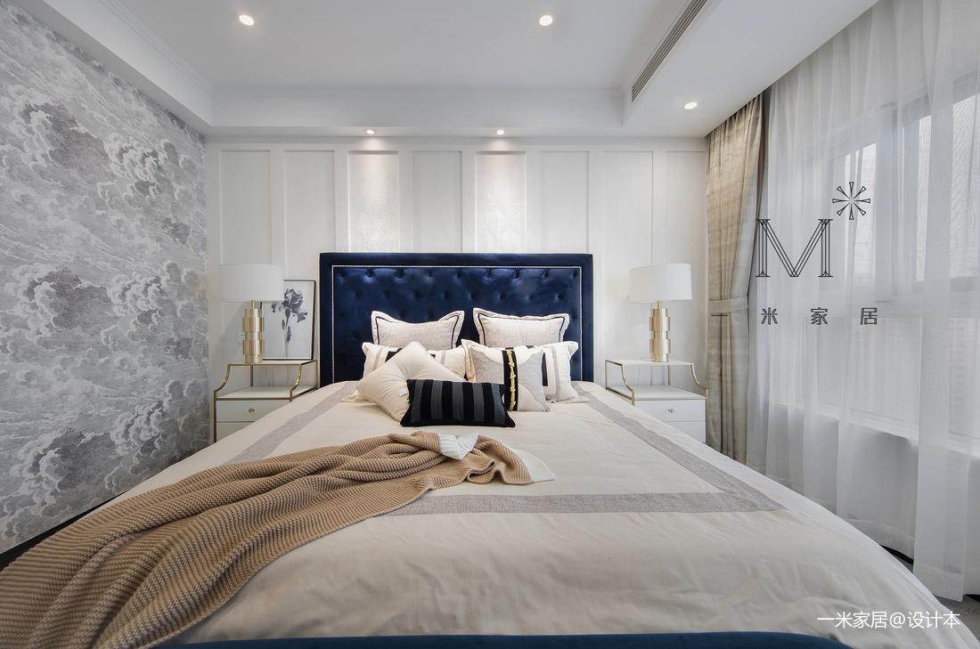 典雅70平美式三居装饰美图