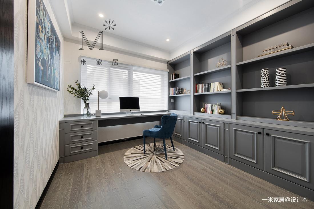 简洁125平美式三居客厅实拍图