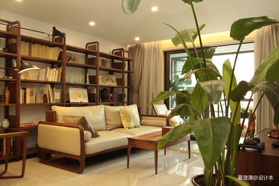 精选面积143平宜家四居客厅装修实景图片