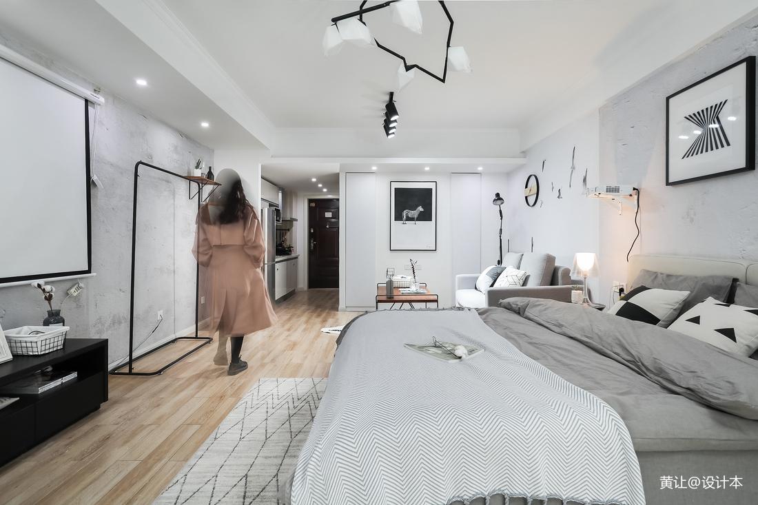 2018现代小户型卧室装修实景图片欣赏