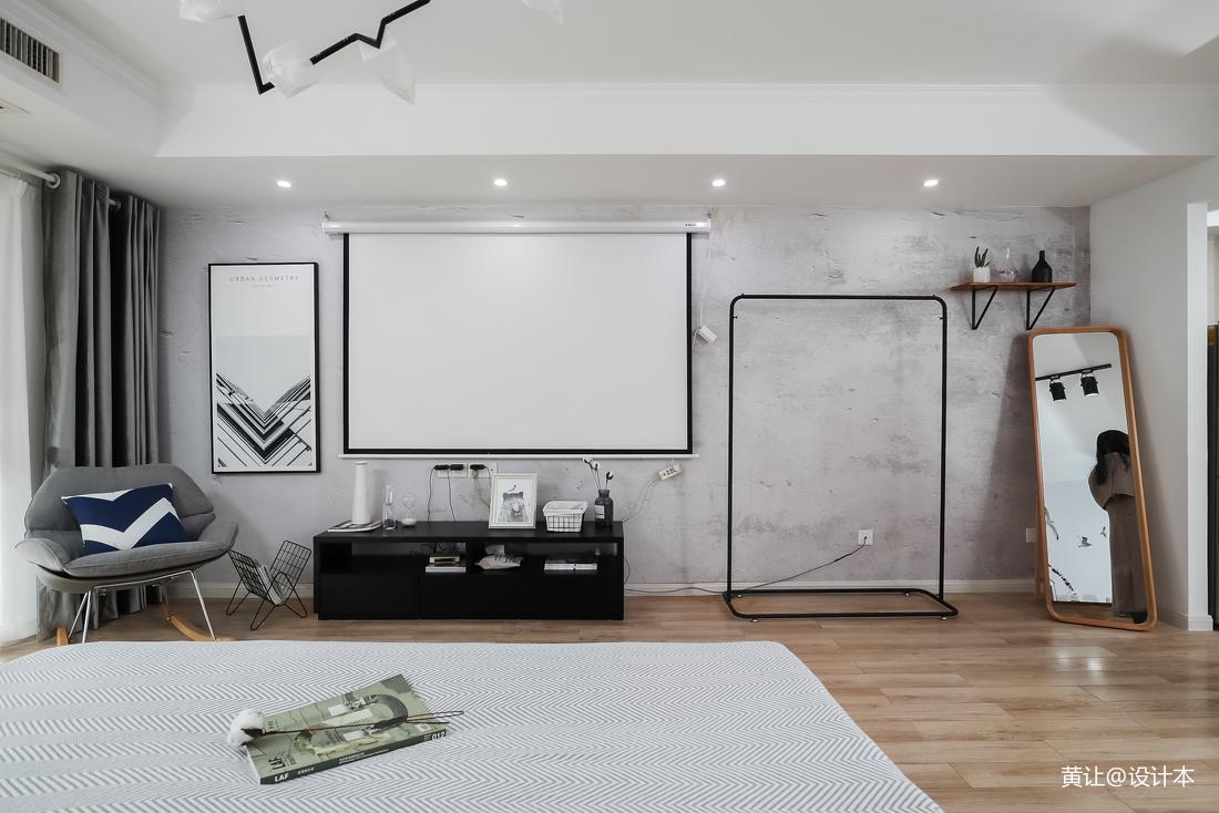 精美现代小户型卧室装修实景图片