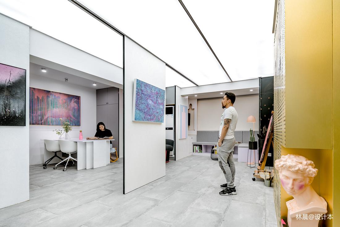 精美71平米现代小户型客厅装修设计效果图
