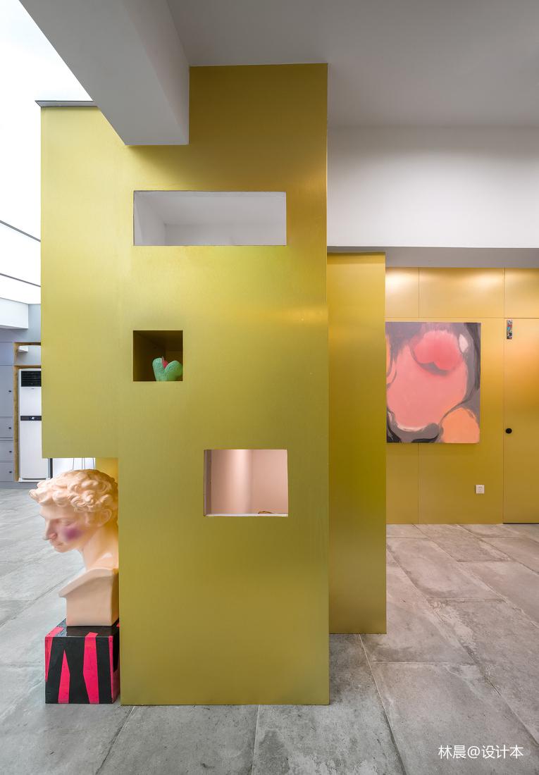华丽24平现代小户型休闲区装潢图