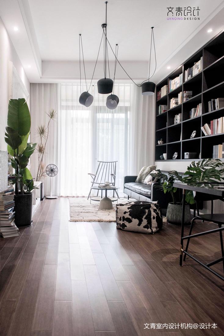 北欧风三居客厅设计欣赏