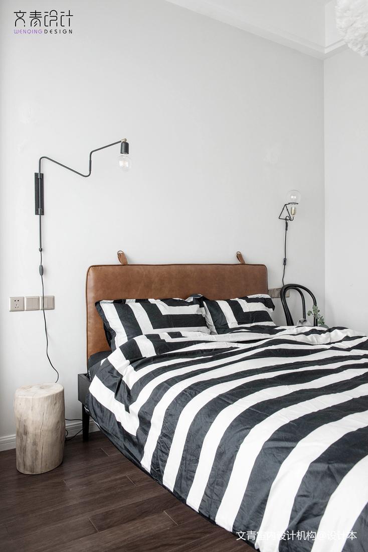 北欧风三居卧室设计欣赏