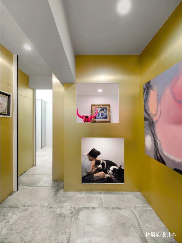精致32平现代小户型休闲区设计图
