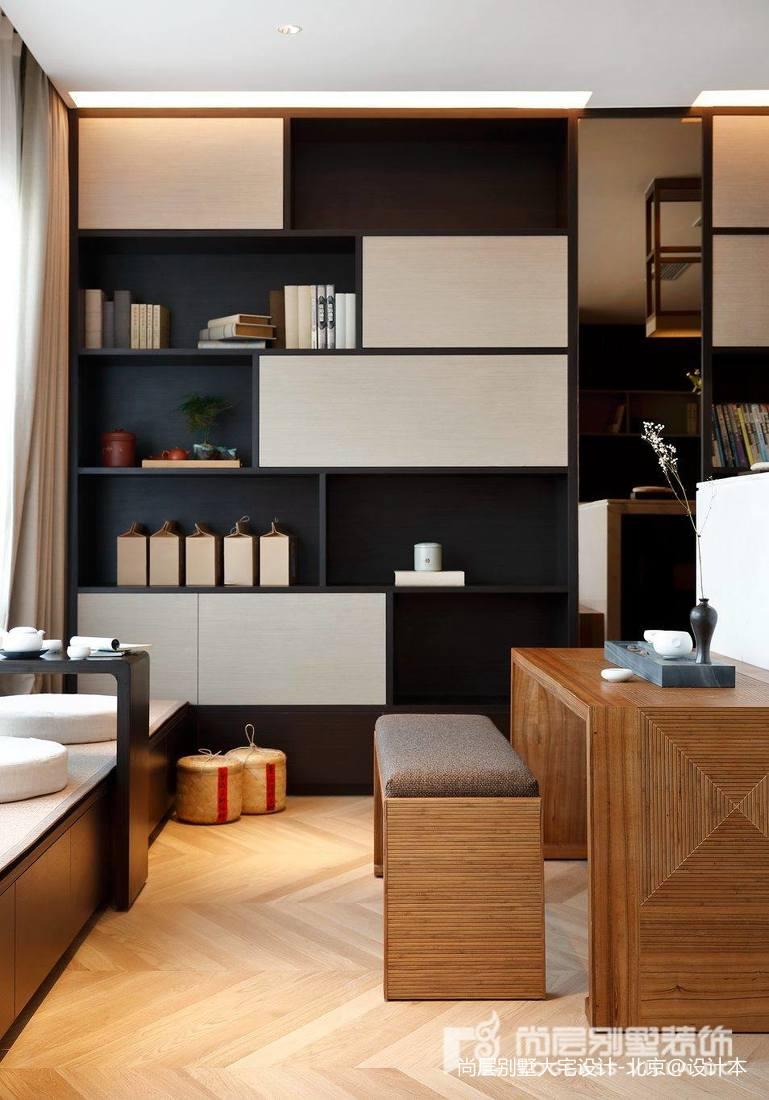 精美面积120平别墅休闲区中式装修图片欣赏