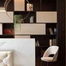 浪漫662平中式别墅客厅装饰图