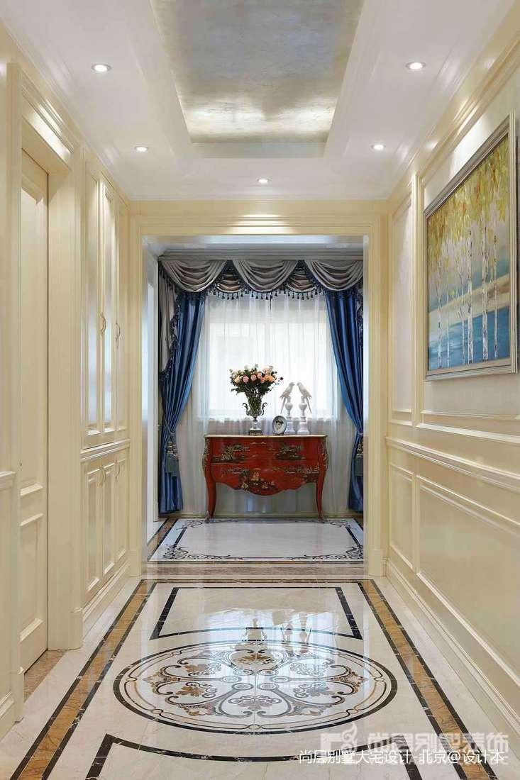 热门125平米中式别墅玄关装饰图片欣赏