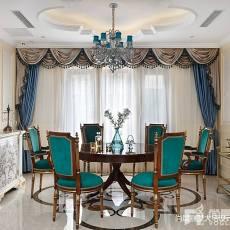 2018别墅餐厅中式装饰图片欣赏