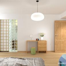 2018精选133平米中式别墅卧室装修欣赏图