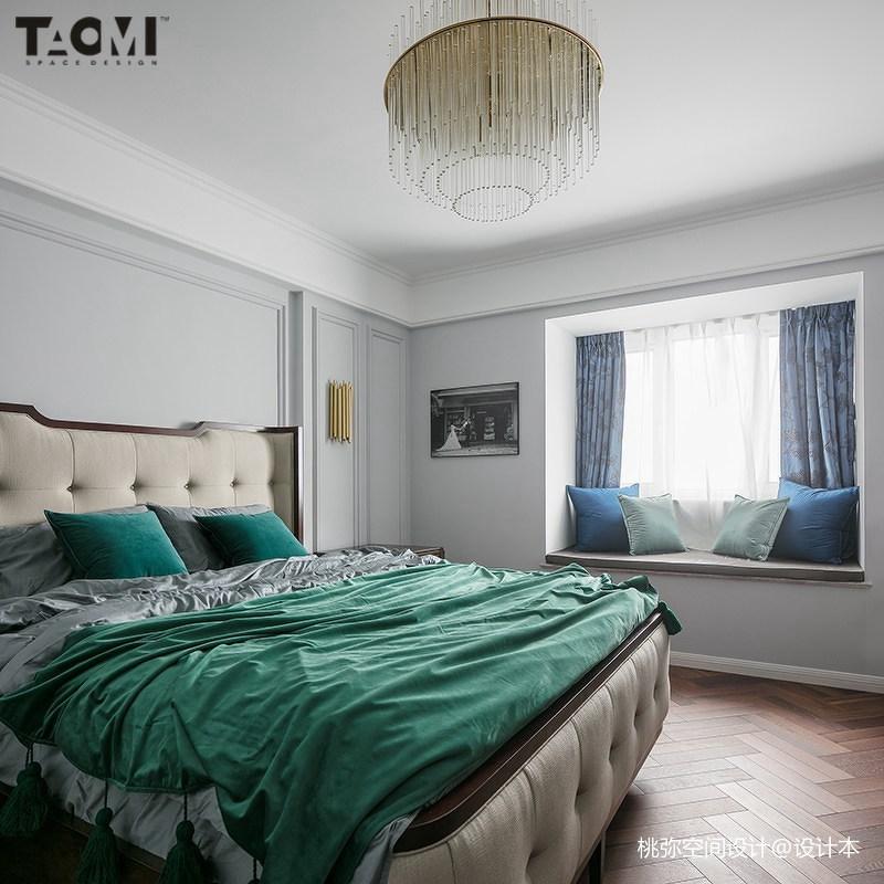 热门142平方四居卧室美式装饰图片大全