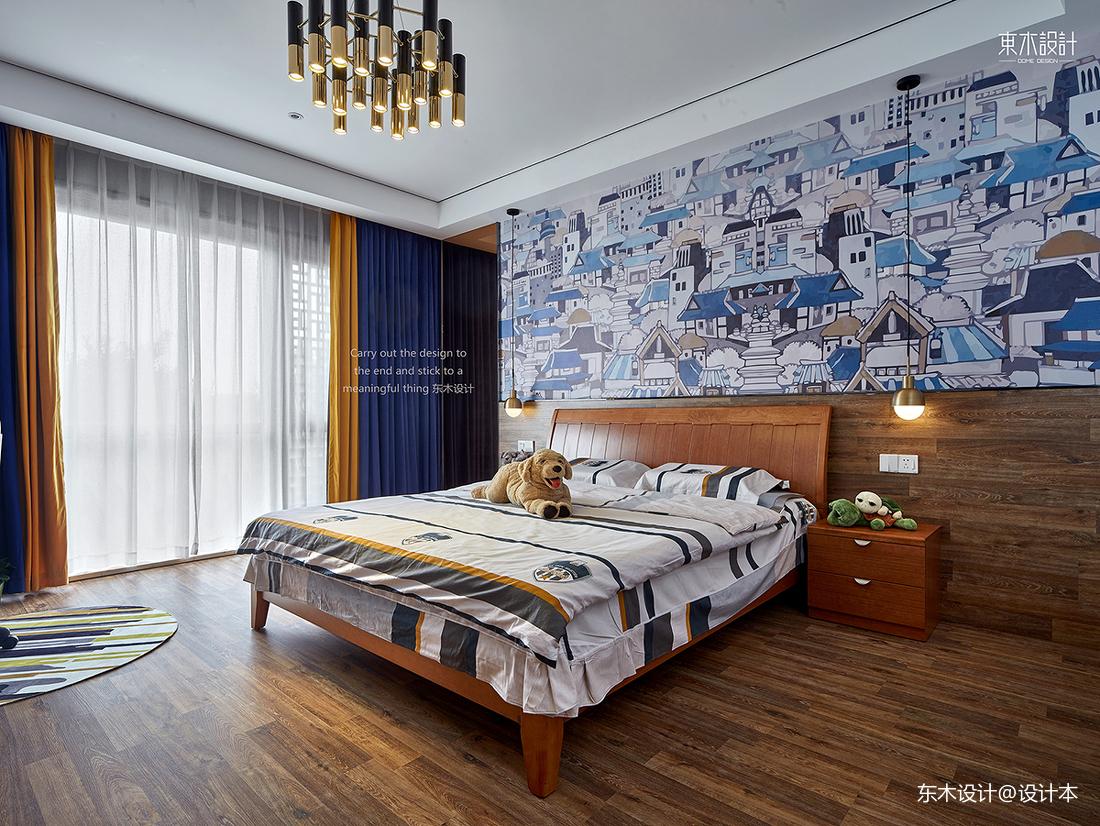 2018精选110平米中式别墅儿童房装修效果图片欣赏