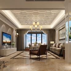 精选四居客厅现代装修实景图片大全