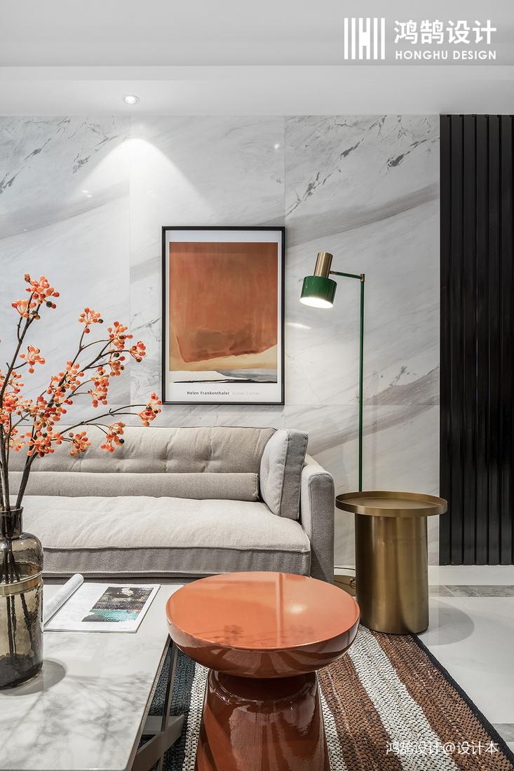 温馨120平现代三居装修设计图