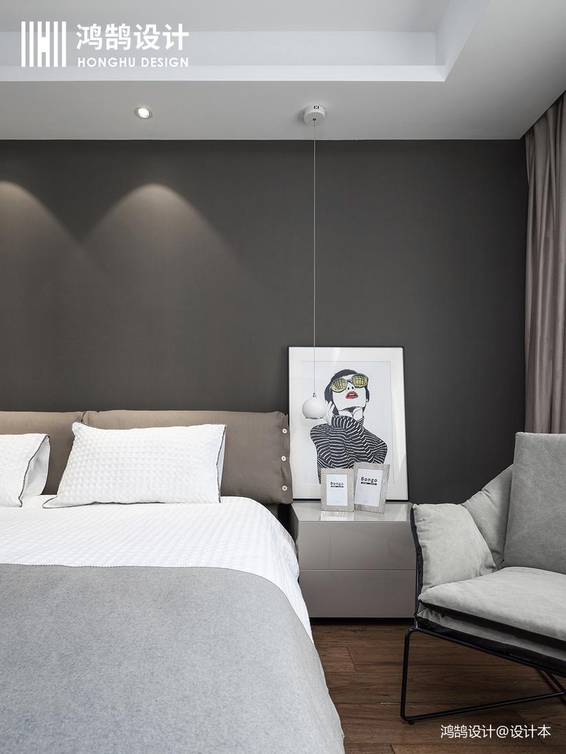 华丽78平现代三居装修图片
