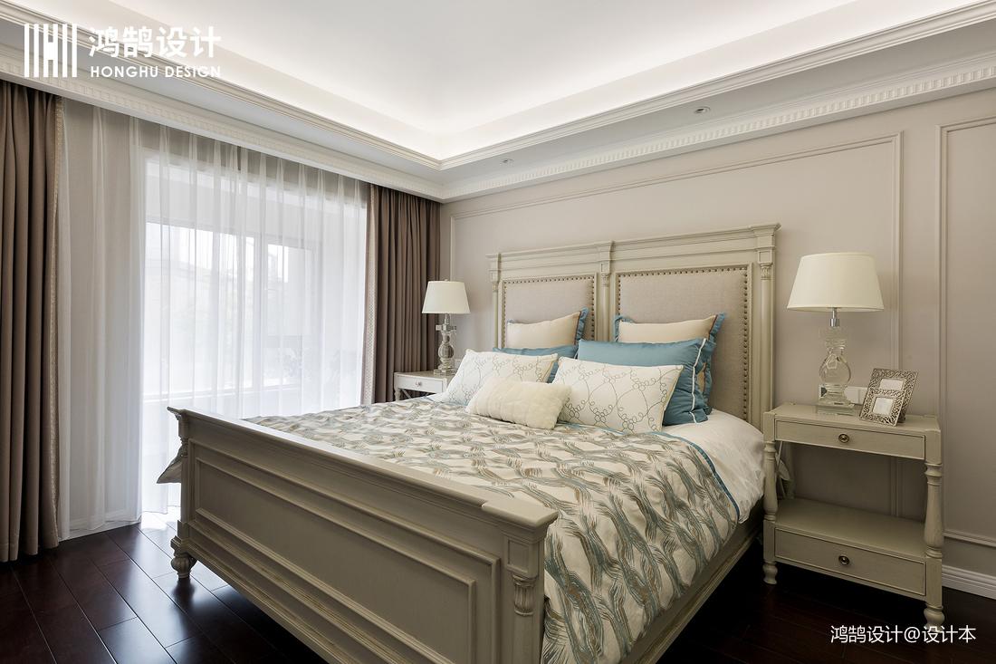 2019111平法式三居卧室装饰图