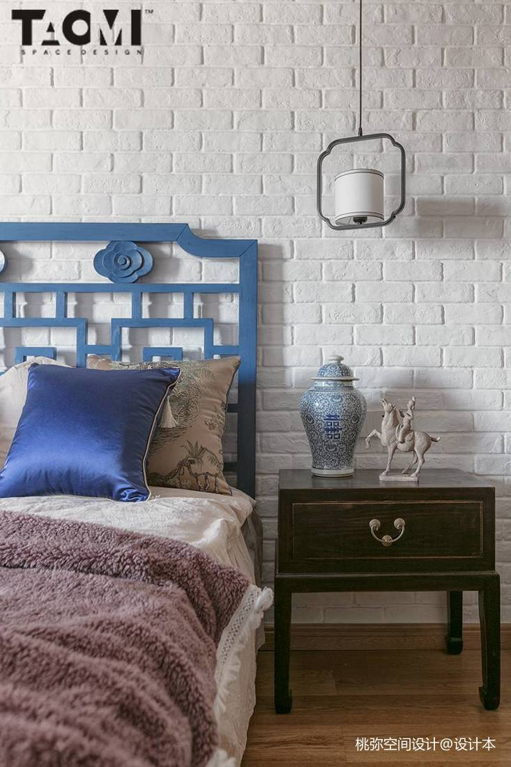 精美面积135平中式四居卧室效果图片欣赏