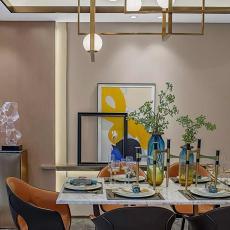 精美餐厅新古典装饰图