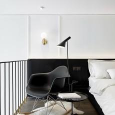 优美50平混搭复式卧室装修图片