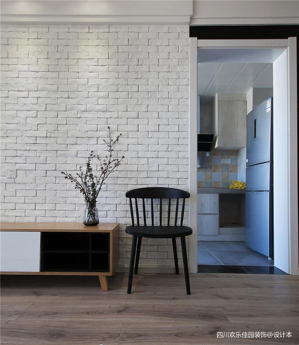 精美79平米二居客厅北欧装修效果图