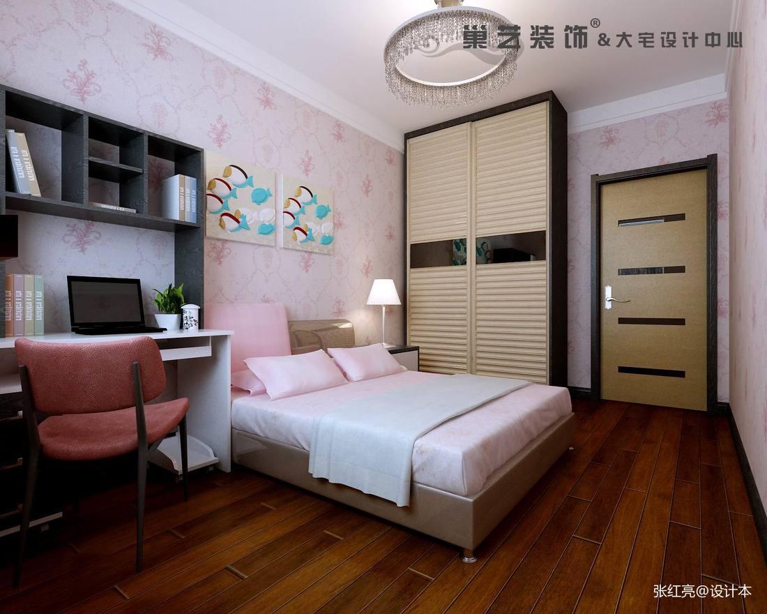 精选129平米宜家复式卧室效果图片欣赏