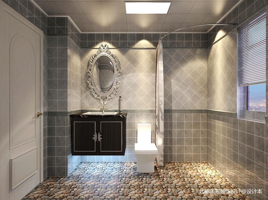 精选二居卫生间新古典装修实景图片