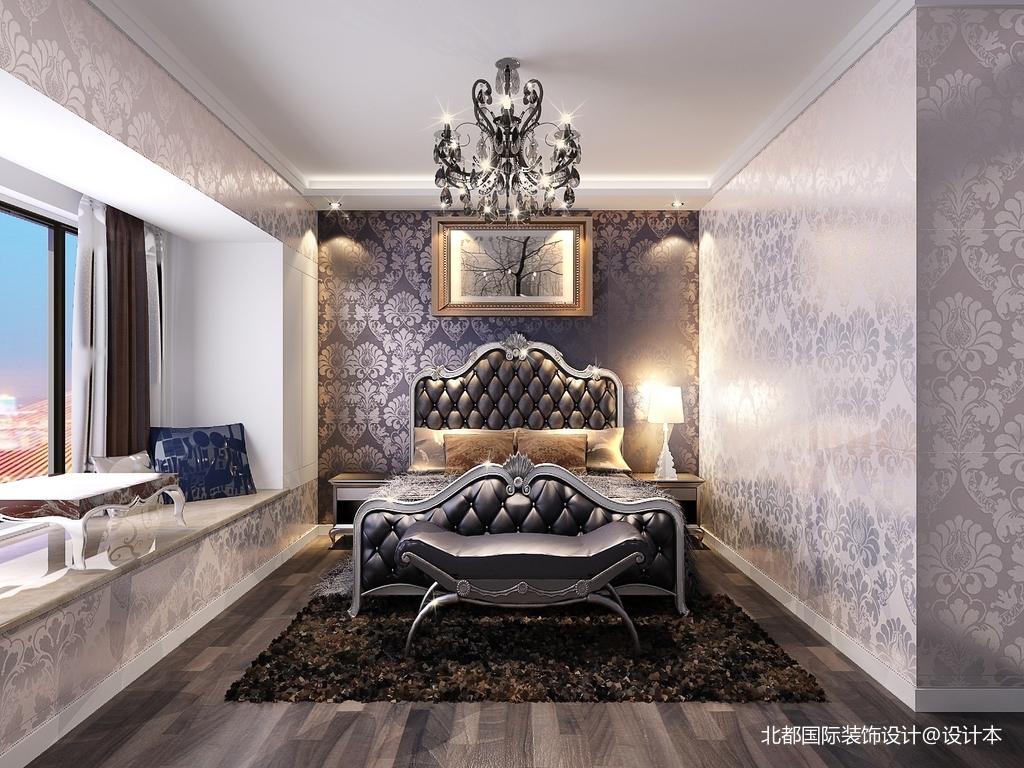 热门80平米二居卧室新古典装饰图片欣赏