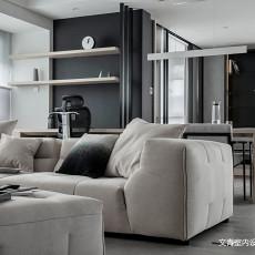 2018精选109平大小现代三居装修设计效果图片大全