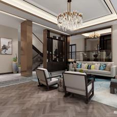 热门143平米中式别墅客厅装饰图片欣赏