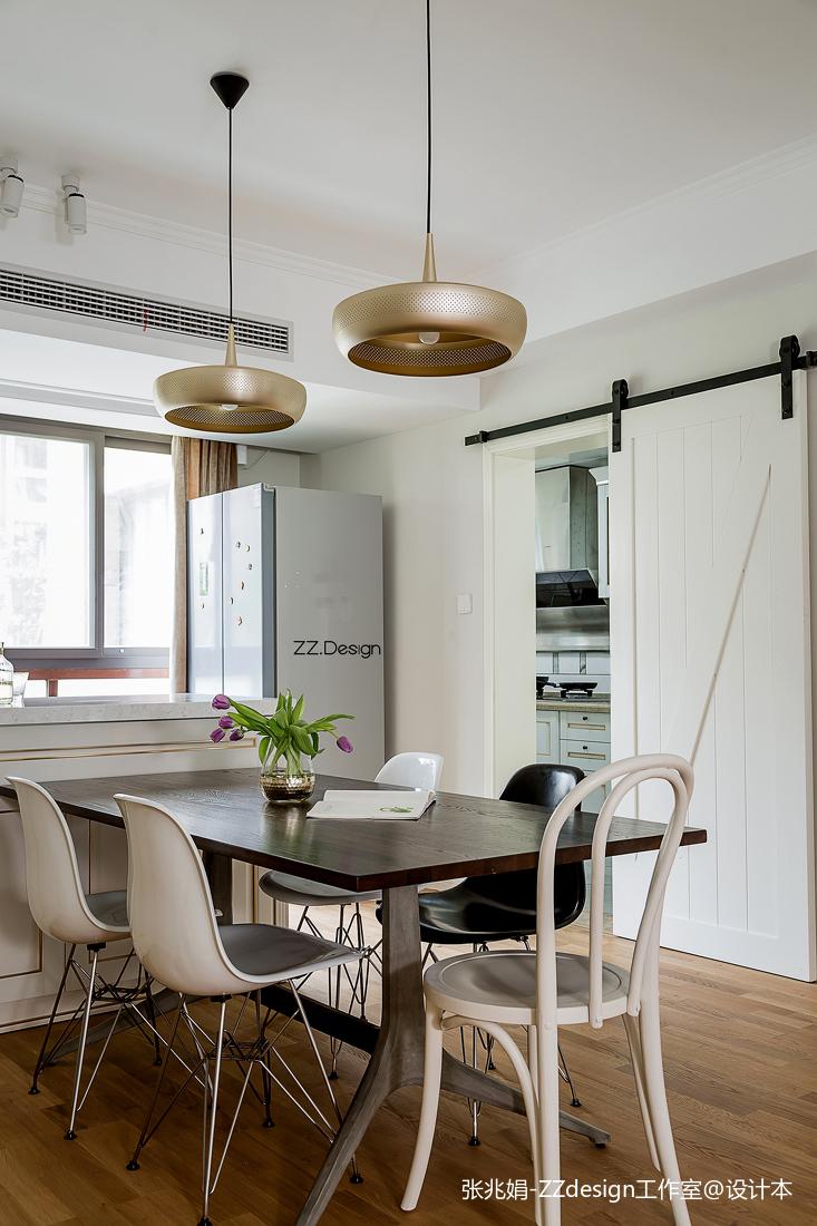2018精选面积126平北欧四居餐厅装修设计效果图片欣赏
