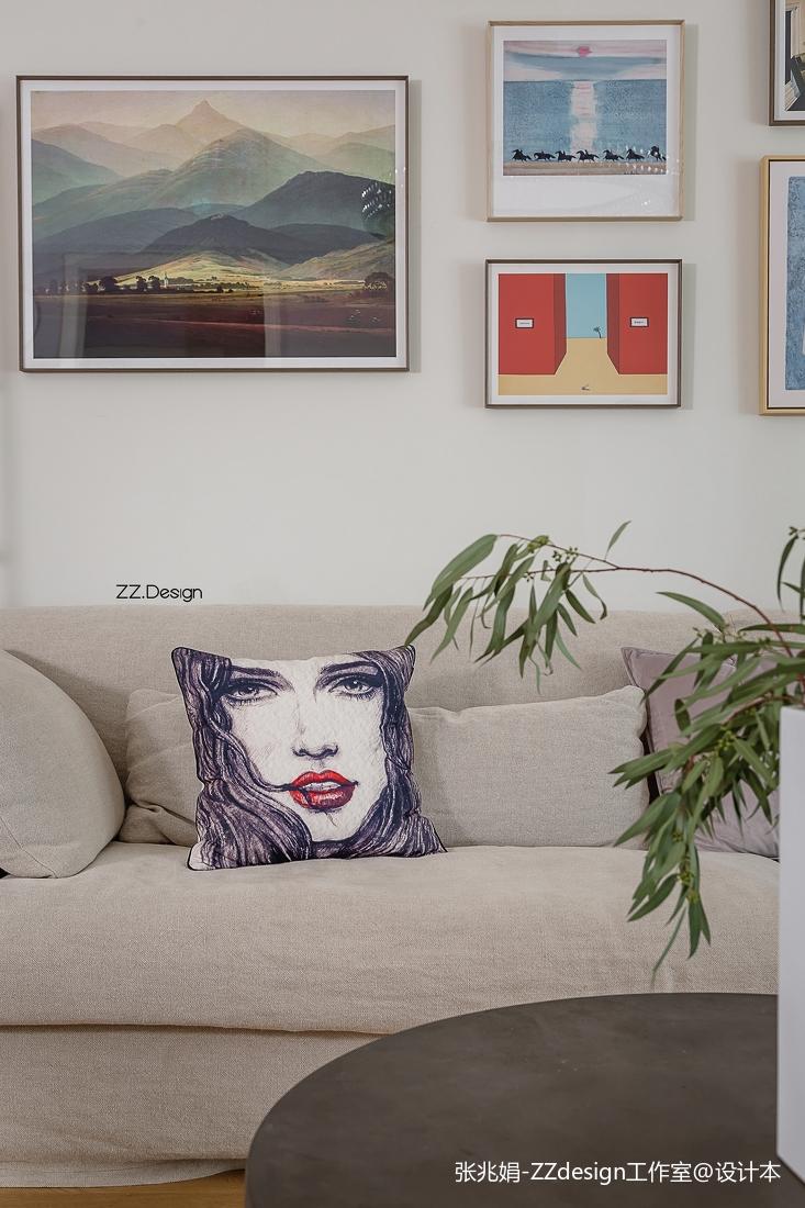 热门141平米四居客厅北欧装饰图片欣赏