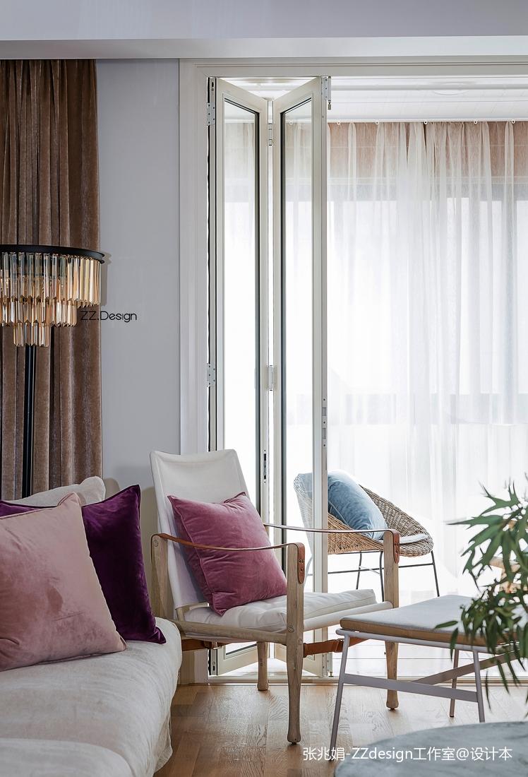 精美面积117平北欧四居客厅欣赏图片大全