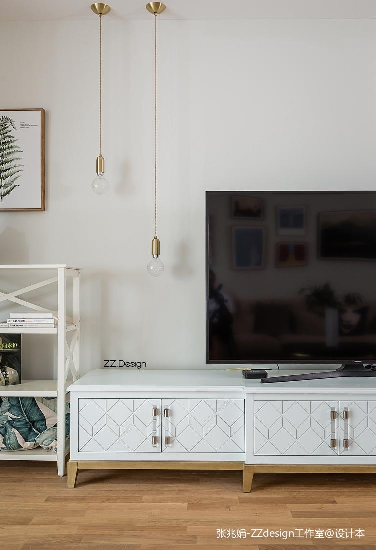 2018精选面积136平北欧四居客厅装饰图片