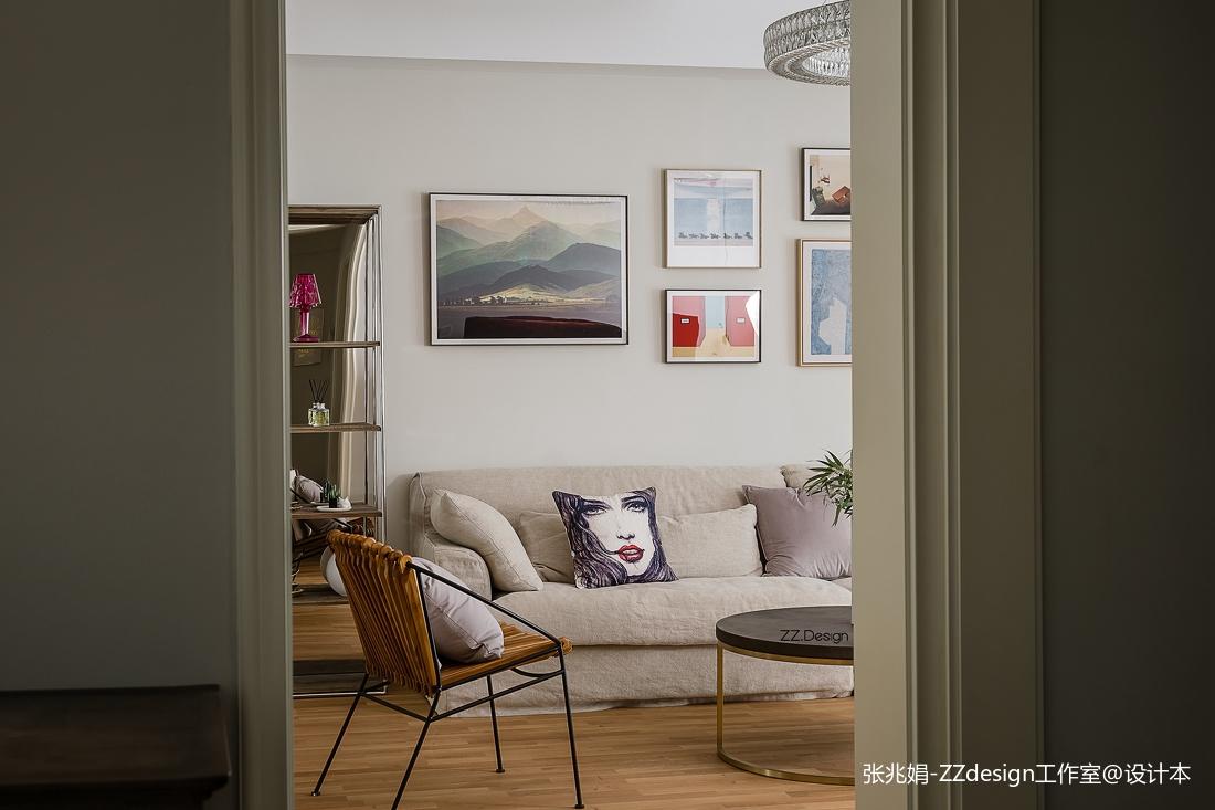 精美面积119平北欧四居客厅装修效果图片欣赏