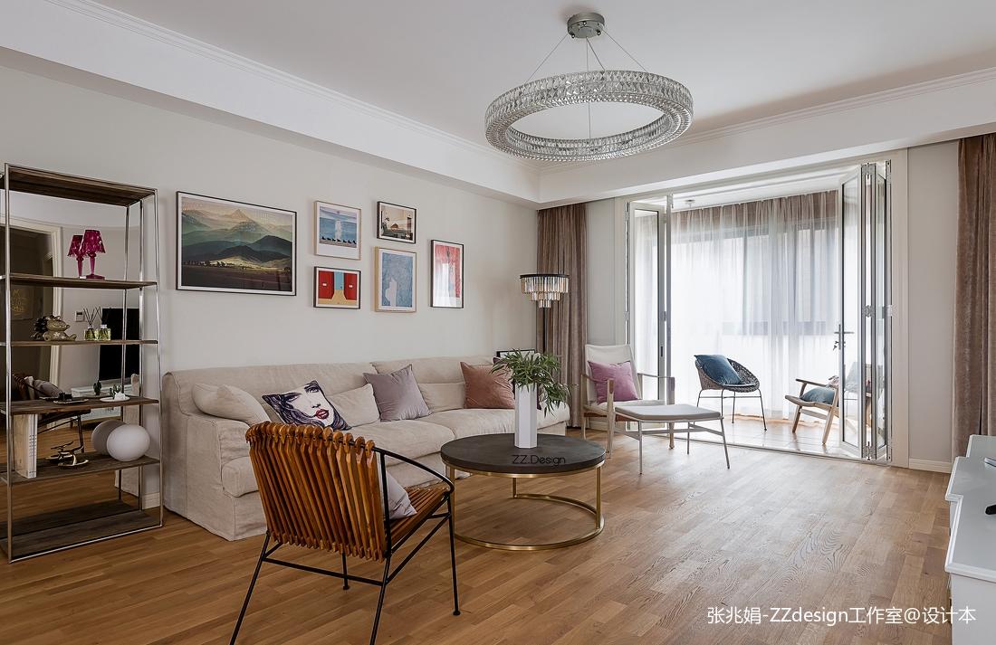 2018123平米四居客厅北欧装修图片