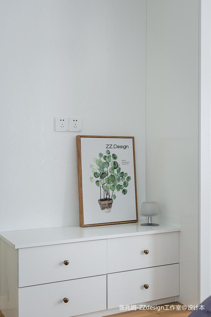 热门130平米四居卧室北欧装修效果图片欣赏