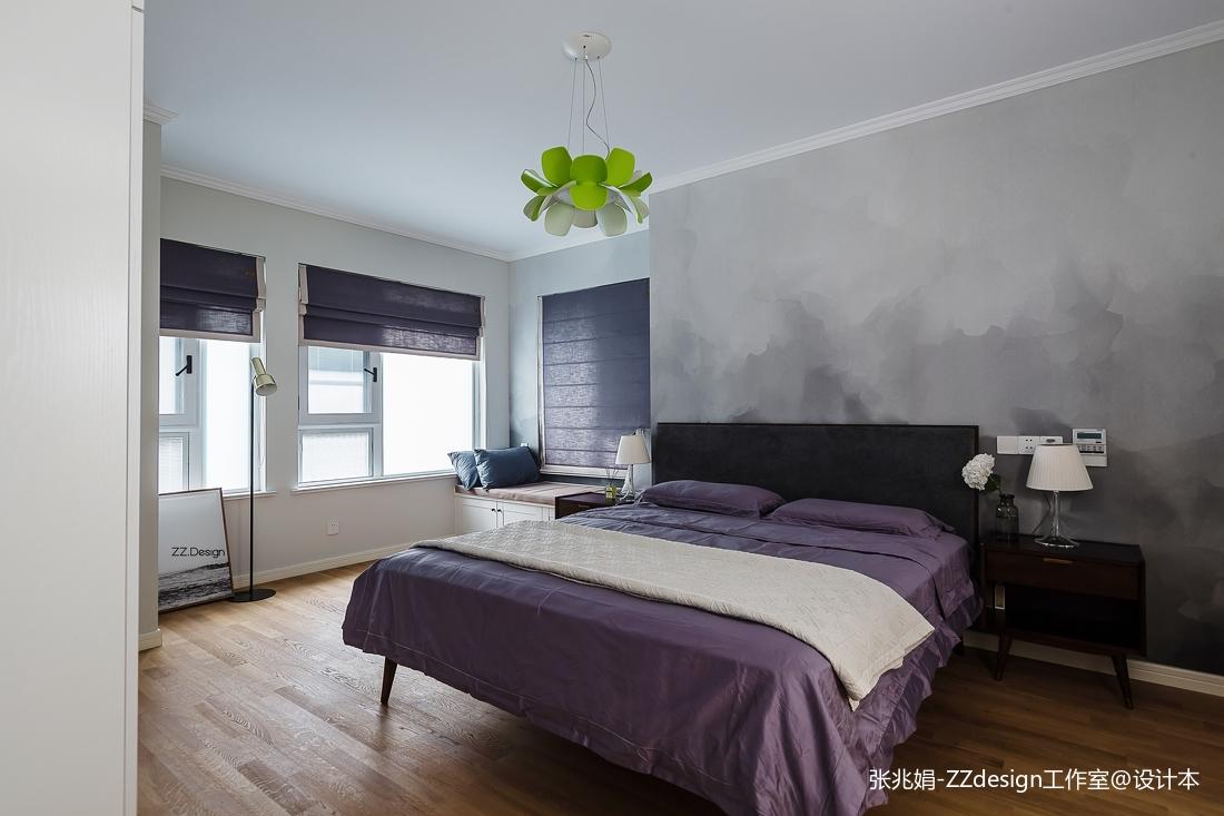 2018北欧四居卧室装饰图片