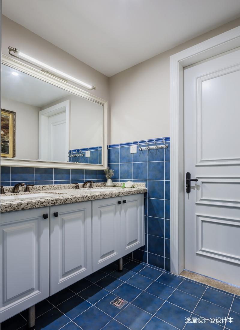 美式四居洗手间设计