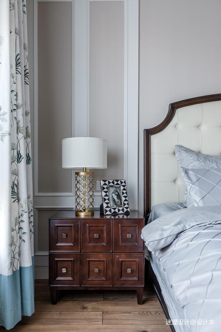 典雅118平美式四居卧室装修图片