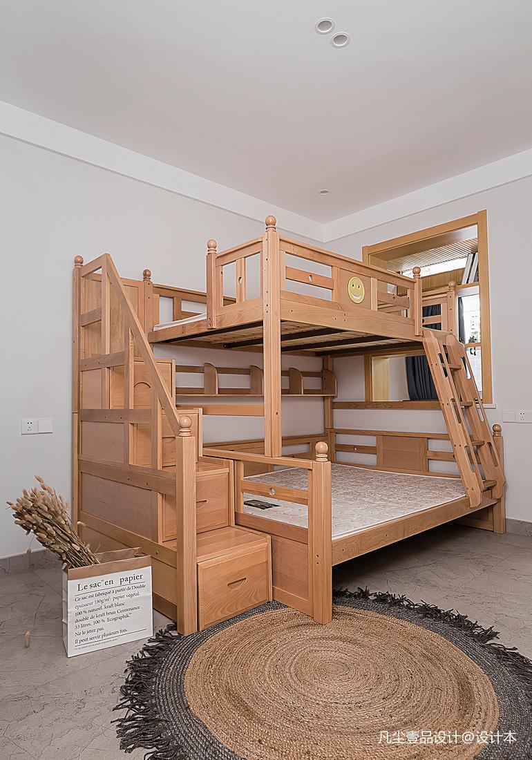 大氣28平北歐小戶型兒童房裝修效果圖