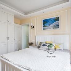 104平方三居卧室混搭装修实景图片