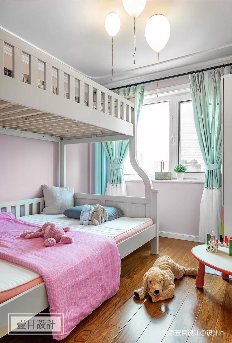 美式三居儿童房装修设计