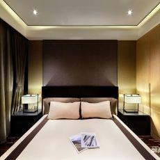 2018108平方三居卧室中式欣赏图